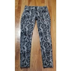 True Religion Casey Feathered Dreams Skinny Jeans